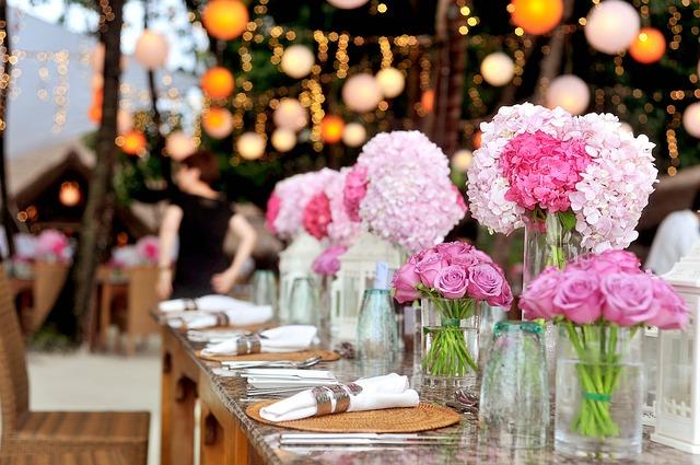 עיצוב אולם לחתונה